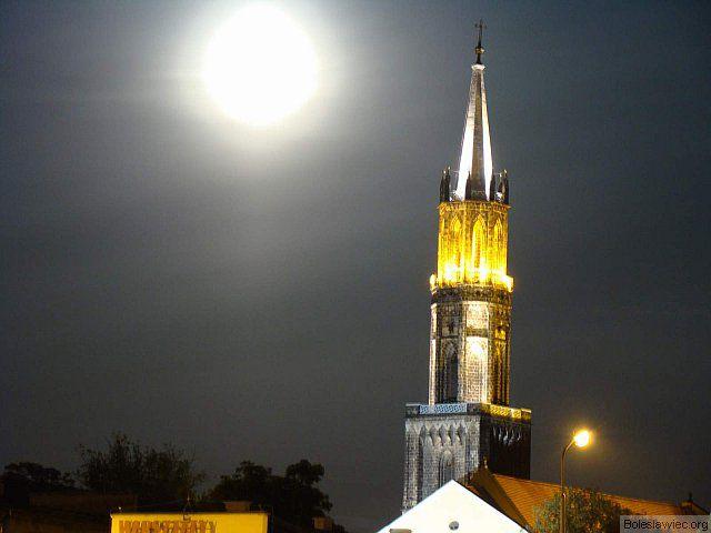 Kościoł i księżyc 2