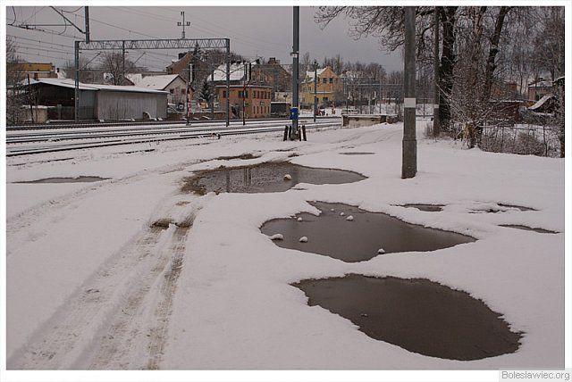 Zimowo...okolice przejazdu