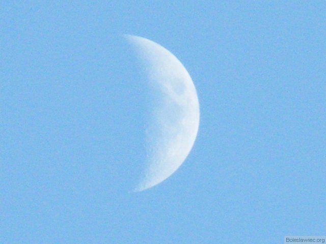 Pół księżyca
