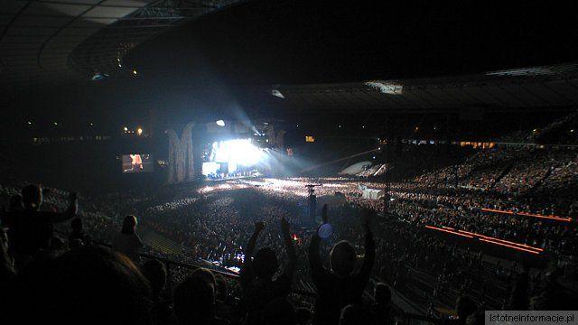 Koncert Madonny - stadion olimpijski