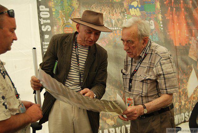 Bogdan Nowak i Tadeusz Mazowiecki