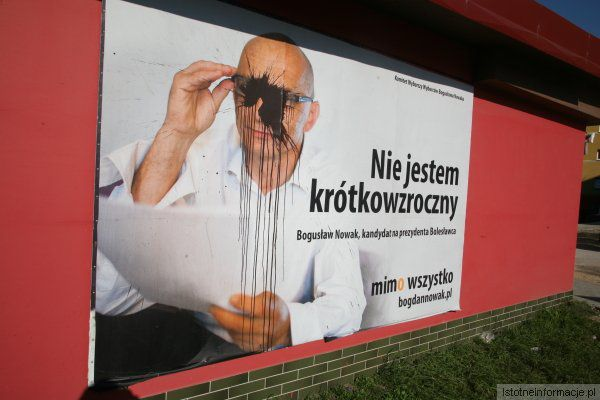 Metody walki wyborczej przeciwników kandydatury Bogusława Nowaka