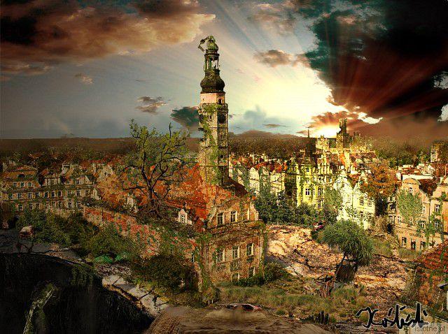 Postapokaliptyczna wizja miasta Bolesławiec