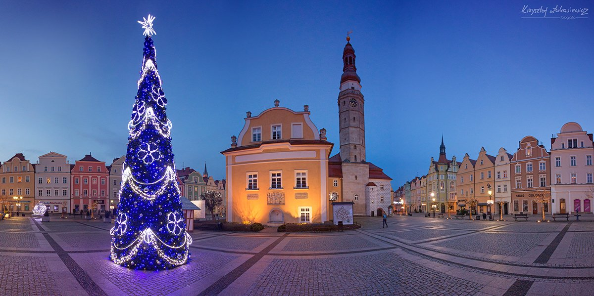 Rynek w Bolesławcu - w grudniu po po... południu :) z-index: 0