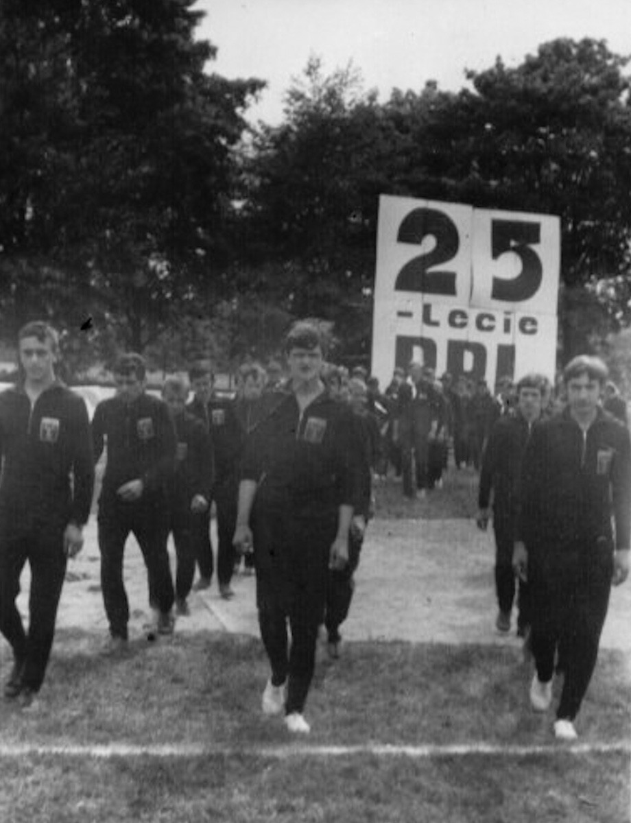 Pochód na 25-lecie PRL (1969 rok)