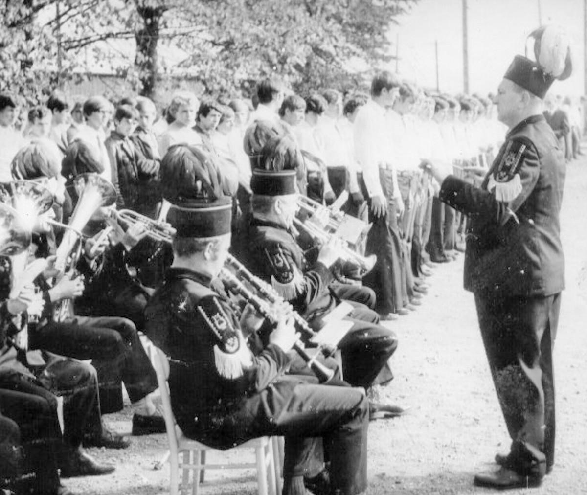 Rozpoczęcie roku szkolnego 1973/74.