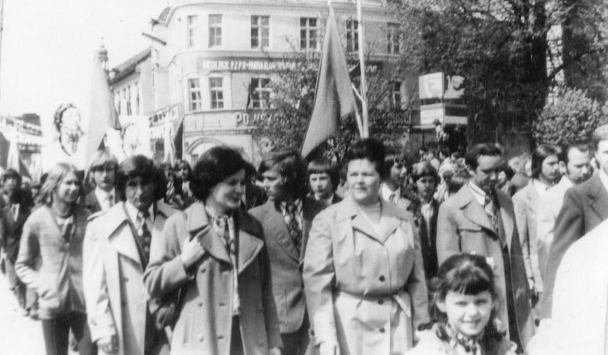 ZSB na Dniach Oświaty Książki i Pracy. (04.06.1976r)