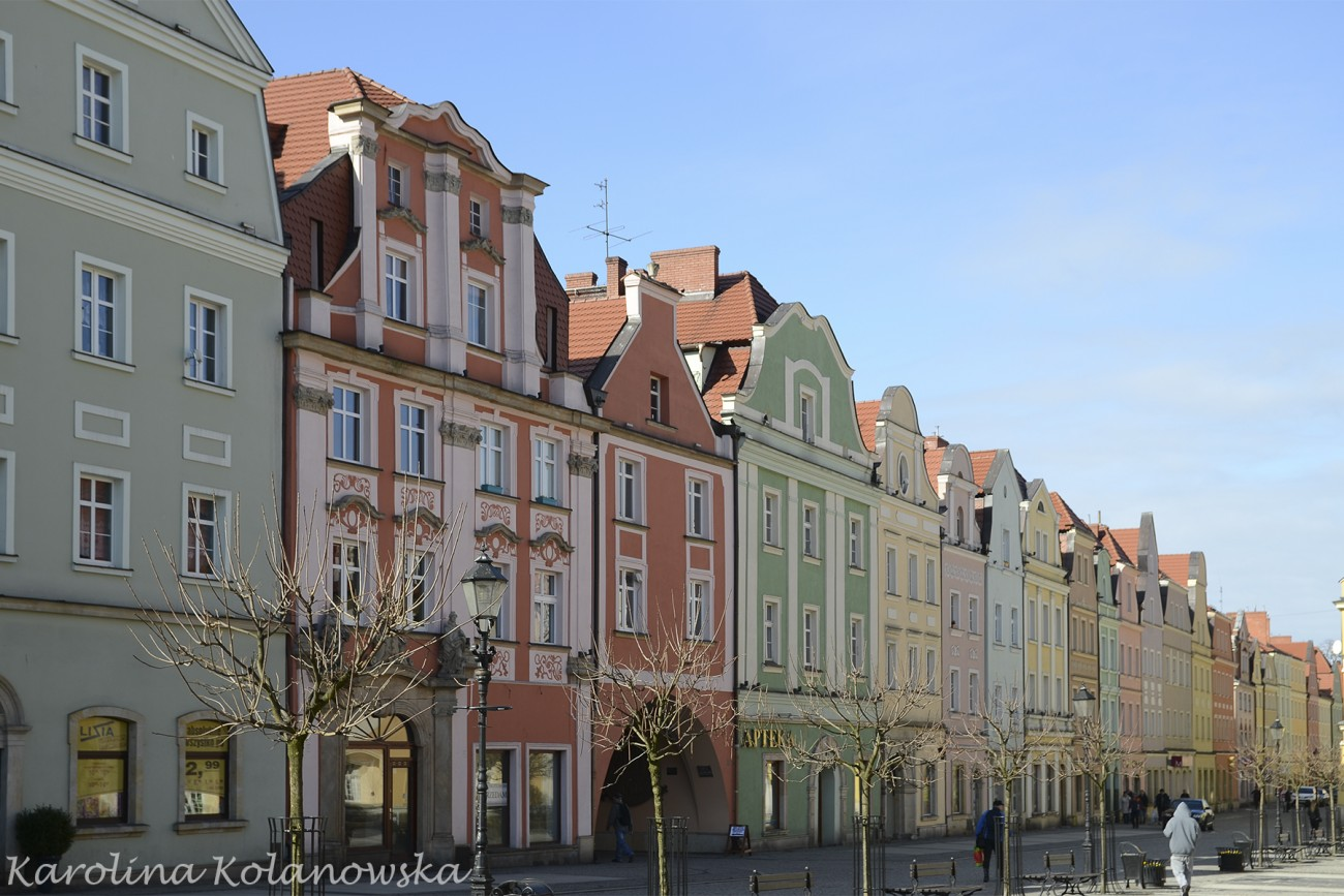 Kamienice na bolesławieckim rynku