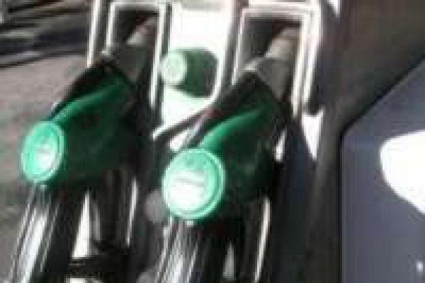 Złodziej paliwa w rękach policji