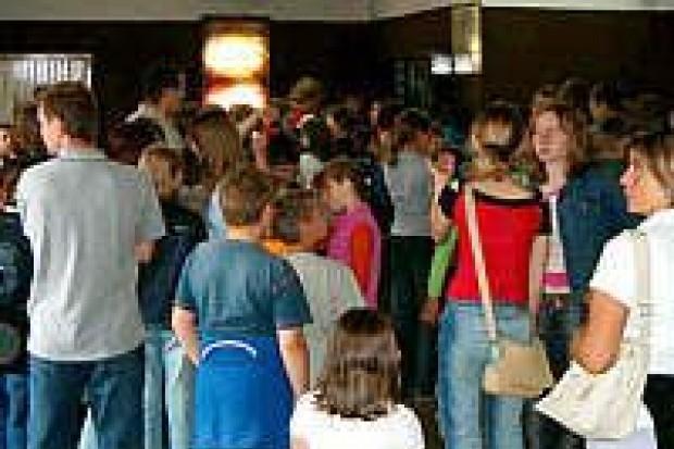 Tłumy widzów obejrzały Harrego Pottera