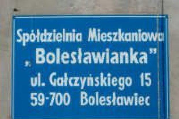 Duże długi w Spółdzielni Mieszkaniowej Bolesławianka