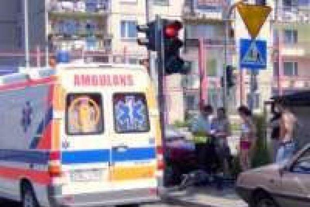 Samochód osobowy potrącił rowerzystkę