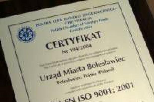 Urząd Miasta otrzymał certyfikat ISO