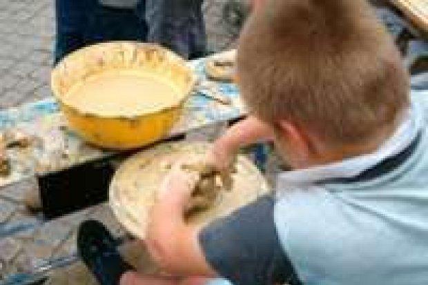 Miasteczko ceramiczne dla dzieci