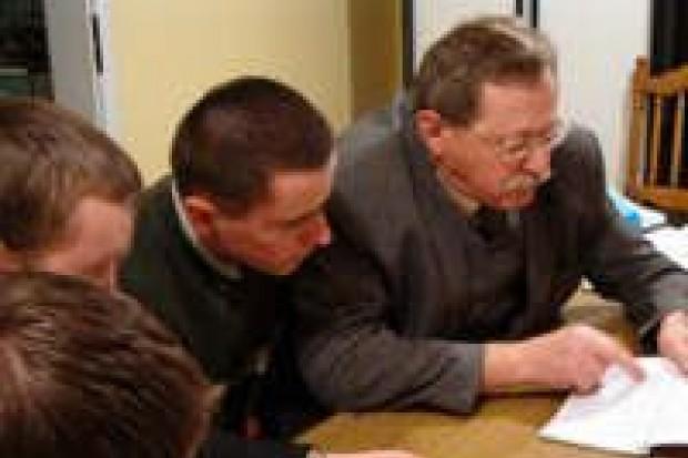 Józef Burniak zorganizował wykład dla młodzieży