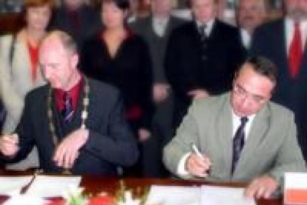 Bolesławiec podpisał umowę z Česką Lípą