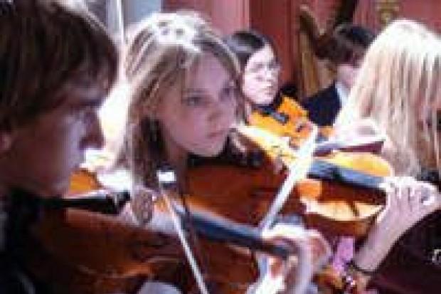 Młodzi muzycy brawurowo zagrali w Kliczkowie