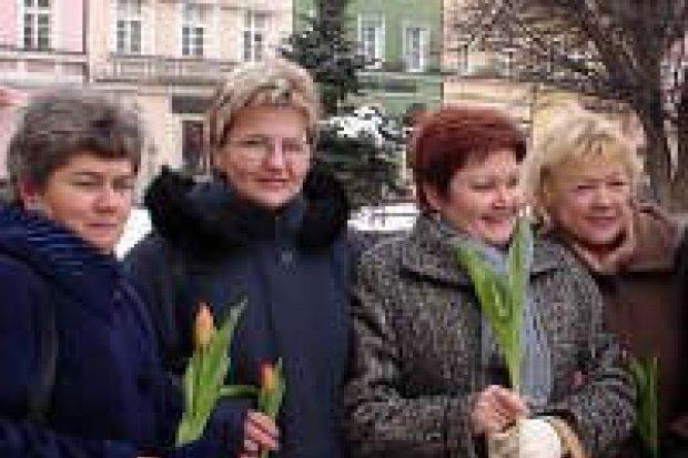 Bolesławiecka lewica uczciła Dzień Kobiet