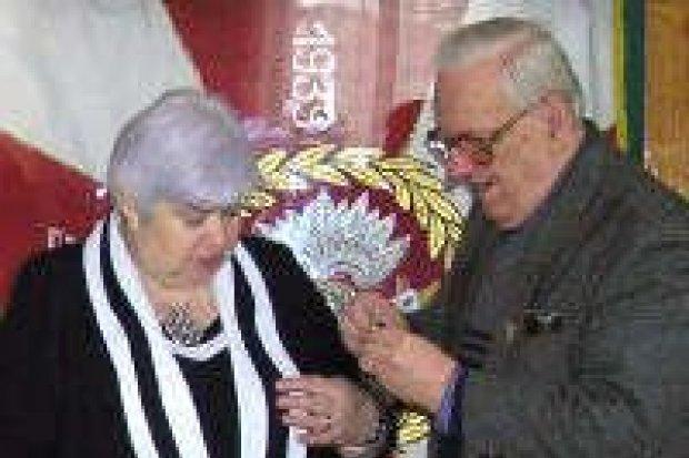 Janina Piestrak-Babijczuk dostała medal