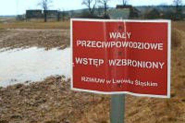 Mija zagrożenie powodziowe w okolicach Bolesławca