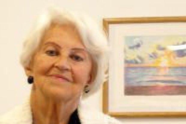 Galeria prezentuje prace Janiny Ożgi-Hołdy