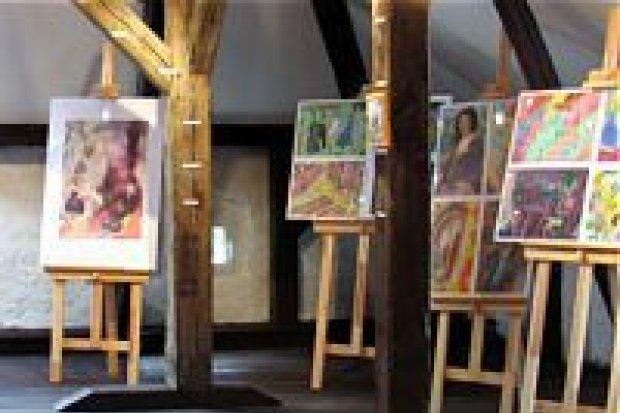 Działa nowa galeria Młodzieżowego Domu Kultury