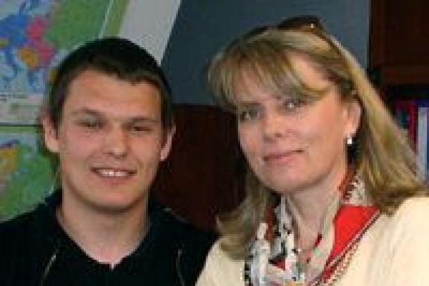 Daniel Biernat jest asystentem Lidii Geringer