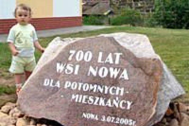 Wieś Nowa świętowała 700-lecie powstania