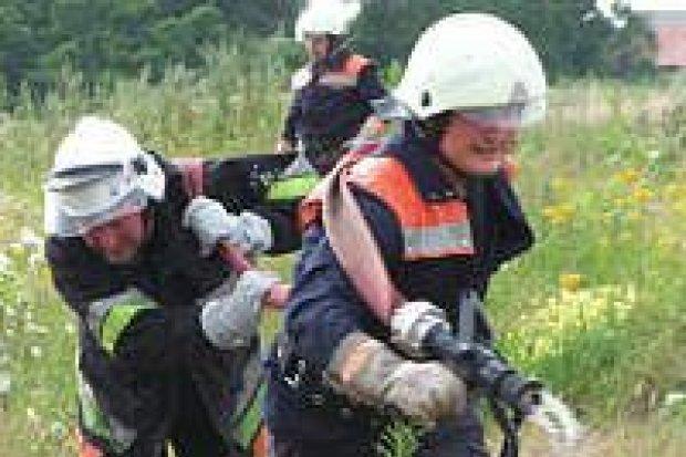 Strażacy z Polski i Niemiec wspólnie ćwiczyli