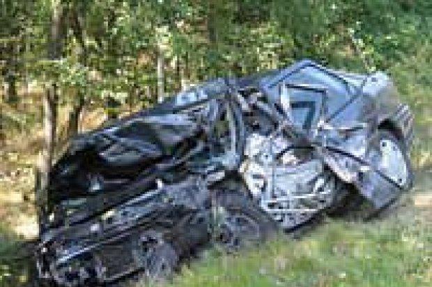 Jedna osoba zginęła w wypadku pod Golnicami