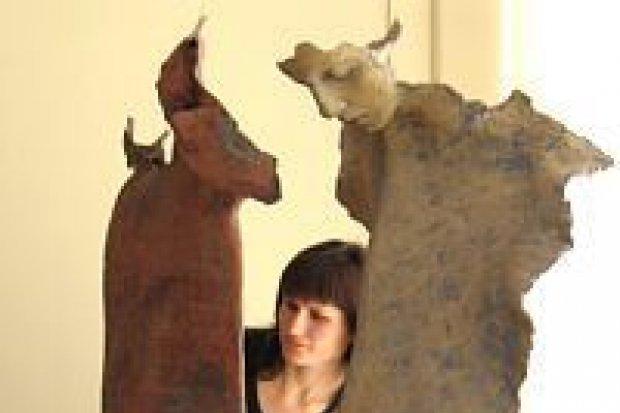Jest wystawa Marity Benke-Gajdy i Wojciecha Kowalczyka