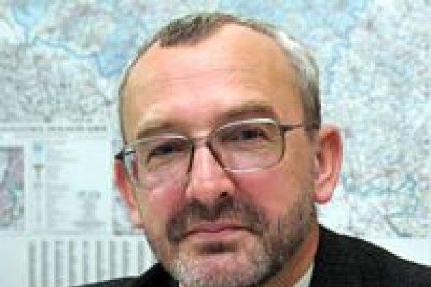 Jan Kisiliczyk otrzymał odznakę za zasługi dla geodezji