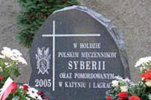 Bolesławieccy Sybiracy odsłonili obelisk