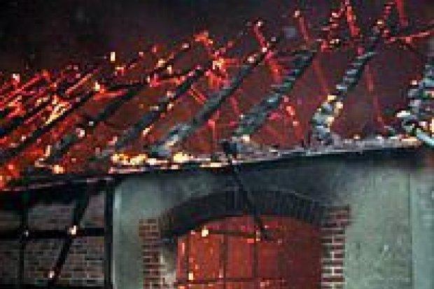 Spłonęła stodoła w Żeliszowie