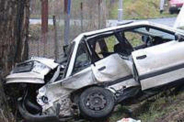 Trzy wypadki samochodowe zdarzyły się przed świętami