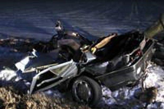 W wypadku koło Kruszyna zginął mężczyzna