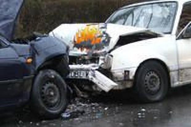 Trzy osoby ucierpiały w wypadkach drogowych