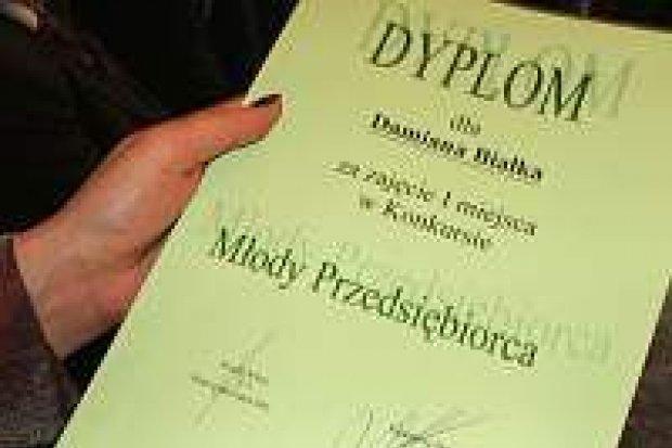 Przyznano nagrody w konkursie Młody Przedsiębiorca