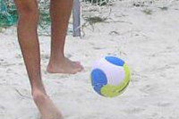 Turniej Plażowej Piłki Nożnej rozegrano w sobotę