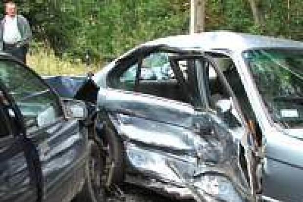 Cztery osoby zostały ranne w wypadku