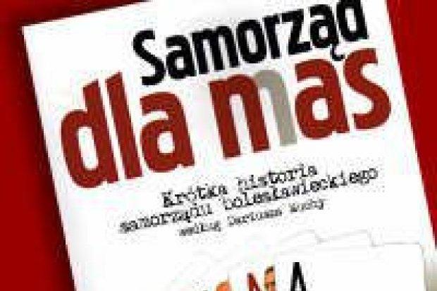 Książkę o lokalnym samorządzie wydał Dariusz Mucha