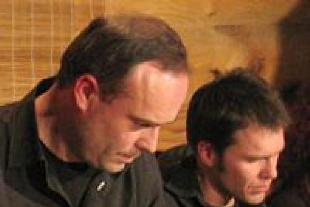 Wiesław Prządka z zespołem zagrał w Opałkowej Chacie