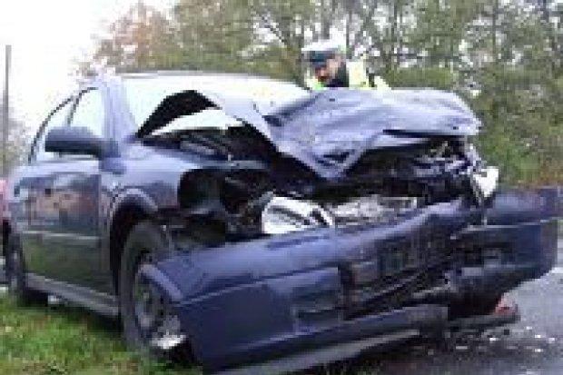 Dwie osoby zostały ciężko ranne w wypadku w Trzebieniu