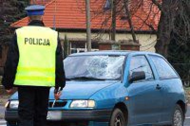 Samochód potrącił dwie starsze osoby