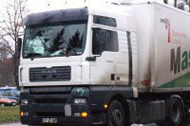 Tir potrącił kobietę na pasach przy ulicy Podgórnej