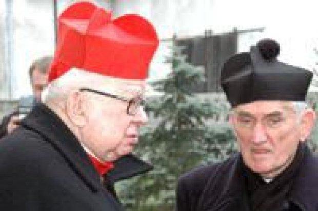 Kardynał Gulbinowicz gościł na Wigilii Narodów w Gromadce