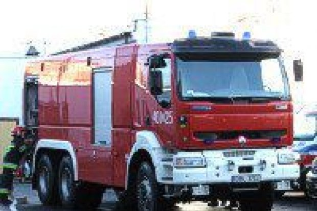 Strażacy ćwiczyli na terenie zakładu Gerresheimer