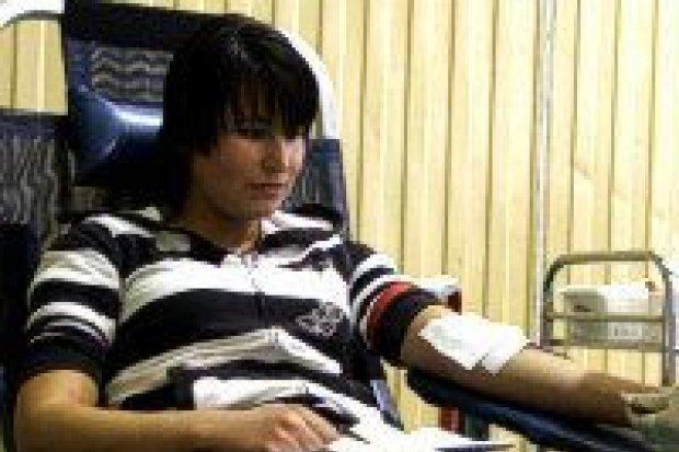 Tegoroczni maturzyści oddawali krew w ZSHiU