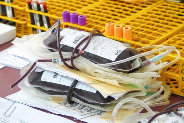 Uczniowie ZSM oddają krew