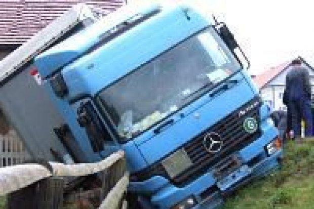 Jedna osoba ranna w wypadku w Czernej
